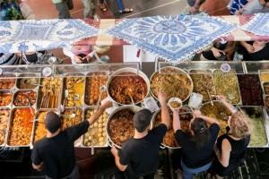 יריד האוכל בדיזנגוף סנטר